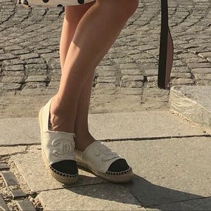 CHANEL Shoes - Chanel Espadrille used